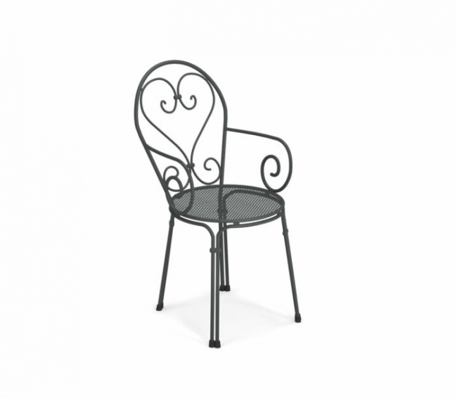 Pigalle chair with armrests